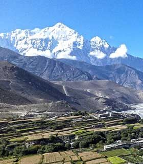 Muktinath with Dhaulagiri ice fall trek