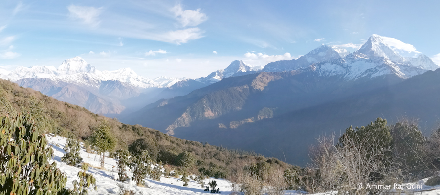 Annapurna mountain trek